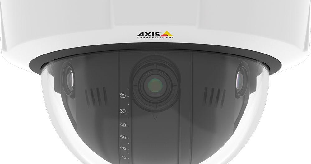 Axis Q37 - 3 lenzen zien meer dan 1