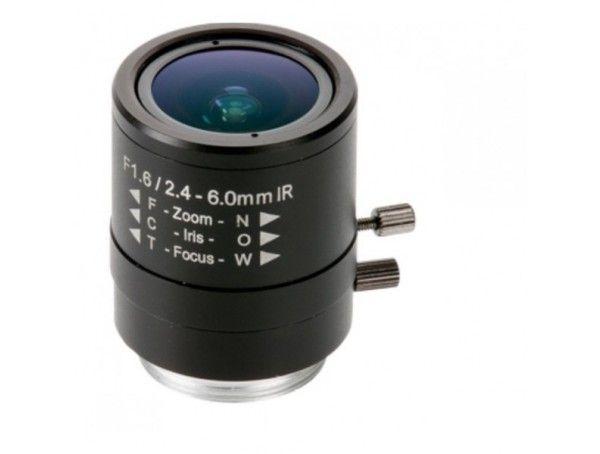 Axis Manual Iris Varifocal Lens 2.4-6 mm