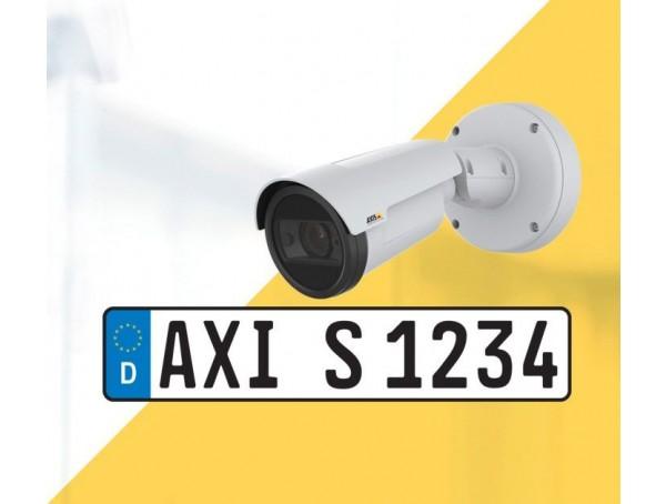 Axis P1445-LE-3 License Plate Verifier