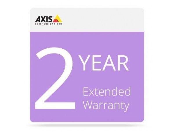 Ext. Warranty Axis Q8742-le 35mm 8.3 Fps 24v