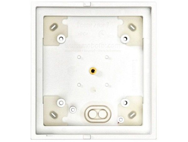 Mobotix Single on-wall housing Wit