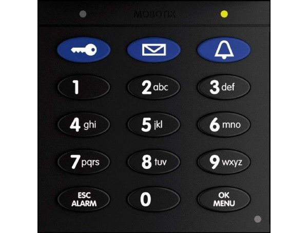 Mobotix Keypad With RFID Technology For T26, Black