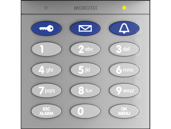Keypad With Contactless RFID Technology
