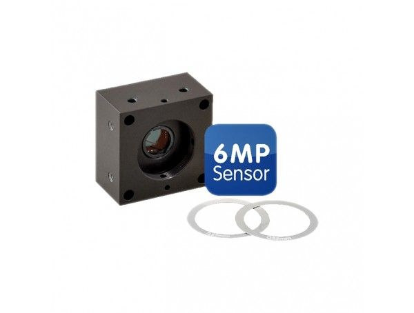 Mobotix BlockFlexMount 6MP, Zwart-wit, voor CS-Mount lens