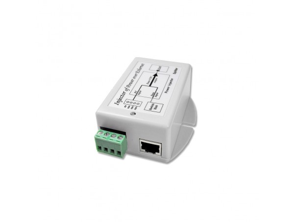 12V accu Power over Ethernet