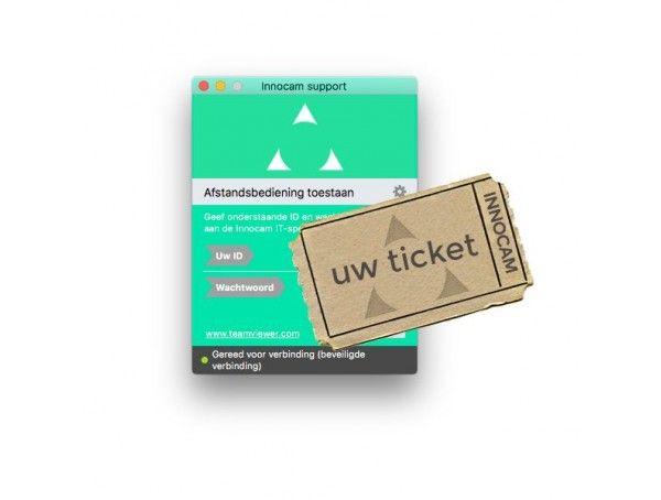 Ticket Installatie en Support ondersteuning