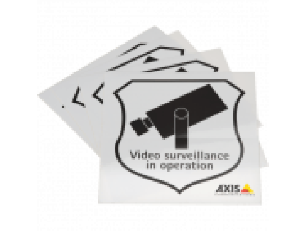 Axis Surveillance Sticker