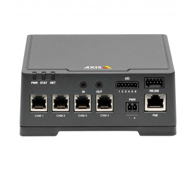 Axis F44 Dual Audio Input