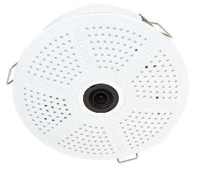 Mobotix c26B - Zwart/Wit, Audio, 180°