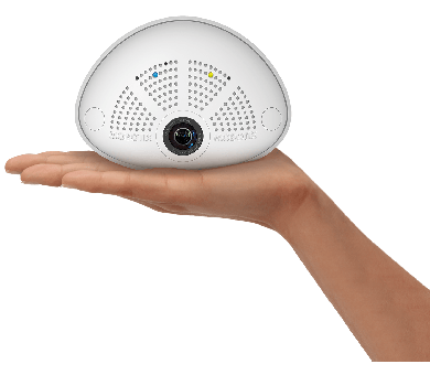 Mobotix i26B - Zwart/Wit, Audio, 103°