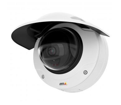Axis Q3515-LV (getoond inclusief optionele beschermkap)