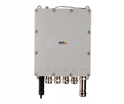 AXIS Outdoor 4-port managed PoE switch
