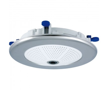 Mobotix In-Ceiling Set For Q2x/D2x/ExtIO, Polished