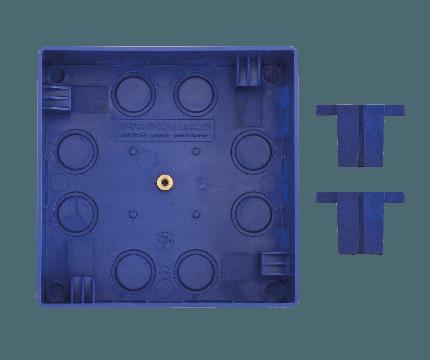 Mobotix In-Wall housing for FlatMount Frame