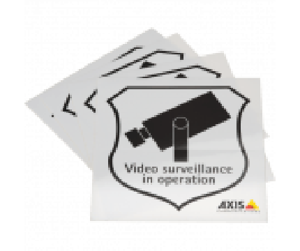 Axis Surveillance Sticker