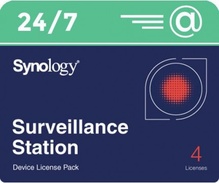 Synology Camera Licentie 4-pack