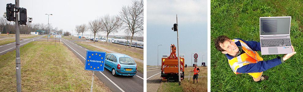 Innocam verkeersonderzoek - ANPR ip-camera's verhuur